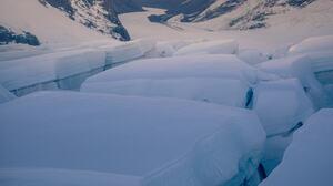 William Patino Landscape Sky Snowy Peak Mountains Snow Ice 979x1467 Wallpaper