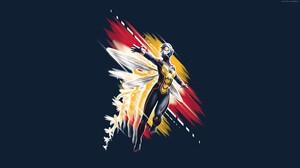 Wasp Marvel Comics 3840x2160 Wallpaper