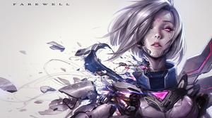 Fiora League Of Legends League Of Legends Video Game Art Fantasy Girl Chengwei Pan 3660x2160 Wallpaper
