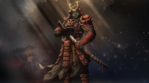Warrior Orc Armor 2400x1400 Wallpaper