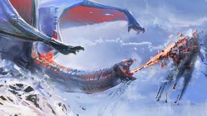 Artwork Fantasy Art Dragon 1800x1150 Wallpaper
