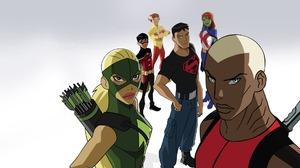 Aqualad Dc Comics Artemis Crock Conner Kent Dick Grayson Kaldur 039 Ahm Kid Flash Miss Martian Robin 1920x1080 Wallpaper