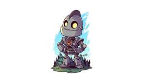 Robot The Iron Giant 1920x1080 Wallpaper