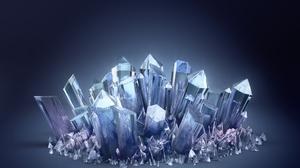 3d Abstract Cgi Crystal Digital Art 1920x1200 wallpaper