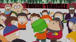 Mr Mackey Kyle Broflovski Eric Cartman Stan Marsh 1440x900 Wallpaper
