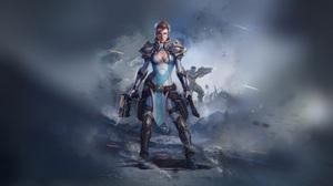 Fantasy Women Warrior 2020x1080 Wallpaper