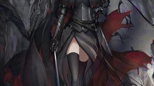 Anime Anime Girls Marumoru Vertical Fate Series Fate Grand Order Jeanne Alter Fate Grand Order Drago 1447x2047 Wallpaper