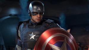 Avengers Captain America Marvel S Avengers Video Game 3840x2160 Wallpaper