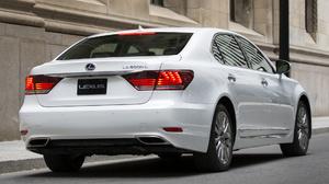 Lexus Ls600 Hybrid Car Luxury Car Sedan White Car 1920x1080 Wallpaper