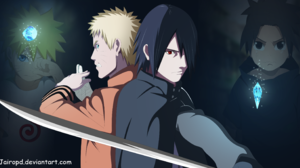 Boruto Anime Naruto Uzumaki Sasuke Uchiha 3000x1600 wallpaper