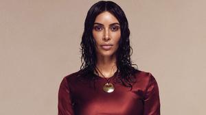 American Black Hair Brown Eyes Kim Kardashian Model 2534x1425 Wallpaper