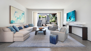Room Living Room Furniture Lounge Sofa Television 4501x2850 Wallpaper