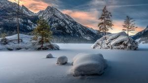 Nature Mountain Snow 2048x1365 Wallpaper