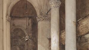 Artwork Painting Medieval Castle Architecture 7364x9656 Wallpaper