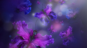 Artistic Butterfly 3200x1800 Wallpaper