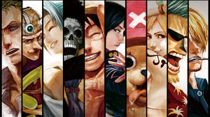 Brook One Piece Franky One Piece Monkey D Luffy Nami One Piece Nefertari Vivi Nico Robin Roronoa Zor 1280x1024 Wallpaper