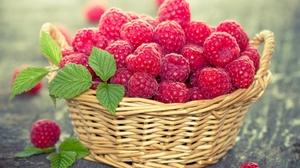 Basket Berry Fruit Raspberry Still Life 2880x2042 wallpaper