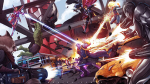 Ant Man Avengers Endgame Black Widow Captain America Captain Marvel Hawkeye Hulk Iron Man Rocket Rac 1920x1080 Wallpaper