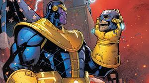 Avengers Comics Marvel Comics Thanos 1920x1080 Wallpaper