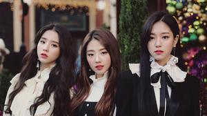 Woman Korean Singer Girl Band Loona Band K Pop Asian Brunette Black Hair Long Hair Brown Eyes Lipsti 1920x1080 Wallpaper