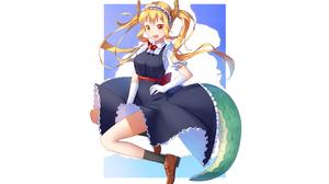 Tohru Miss Kobayashis Dragon Maid 2560x1600 wallpaper