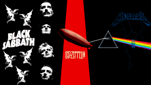 Black Sabbath Classic Rock Heavy Metal Led Zeppelin Metal Music Metallica Pink Floyd Queen Band Rock 2560x1440 Wallpaper