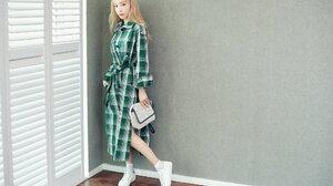 SNSD Taeyeon Kim Taeyeon Girls Generation Asian K Pop 2005x1338 Wallpaper