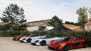 Car Mclaren Mclaren P1 Red Car Sport Car Supercar Vehicle White Car 2048x1281 wallpaper