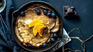 Food Fruit Pancake 2560x1576 wallpaper