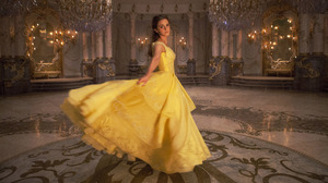 Emma Watson Beauty And The Beast 2017 Ballroom Belle Beauty And The Beast Yellow Dress 5616x3307 wallpaper