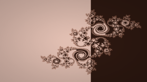 Brown Fractal Julia Set Simple 7680x4320 Wallpaper