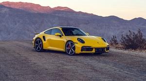Porsche Porsche 911 Car Yellow Car Sport Car 7680x4320 Wallpaper