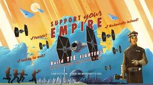 Star Wars Rebels Tie Fighter 2560x1440 Wallpaper