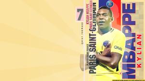 French Kylian Mbappe Paris Saint Germain F C Soccer 1920x1080 wallpaper