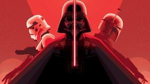Boba Fett Darth Vader Lightsaber Star Wars Stormtrooper 1920x1160 Wallpaper