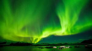 Aurora Borealis Light Night Sky 7360x4912 Wallpaper