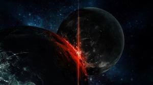 Sci Fi Collision 1920x1200 Wallpaper