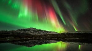 Aurora Borealis Light Nature Night Sky Stars 1920x1200 Wallpaper
