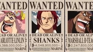Charlotte Linlin Marshall D Teach Shanks One Piece 3844x1864 Wallpaper