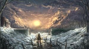 Fantasy Landscape 2958x1829 wallpaper