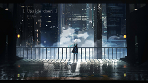 Anime Anime Girls Lifeline Cityscape 3654x1688 Wallpaper