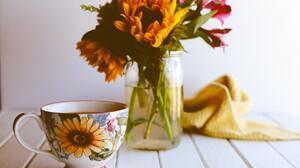 Coffee Flower 5600x4480 Wallpaper