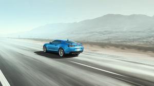 Chevrolet Camaro Ss Chevrolet Camaro Chevrolet Car Blue Car Muscle Car 1920x1080 Wallpaper