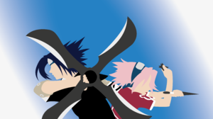 Sakura Haruno Sasuke Uchiha 4763x2977 Wallpaper
