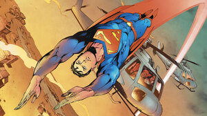 Dc Comics Helicopter Superman 2560x1440 wallpaper