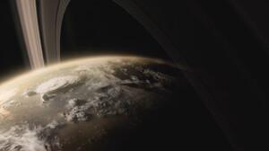Planet Horizon Space 1920x816 Wallpaper