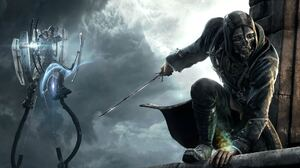 Video Game Dishonored 3840x1080 wallpaper