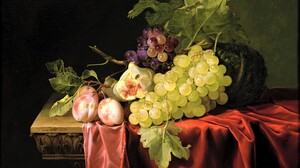 Artistic Fruit Painting Still Life Vegetable 1920x1200 wallpaper