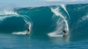 Edgar Ramirez Bodhi Point Break Johnny Utah Luke Bracey Surfing 6000x4000 Wallpaper