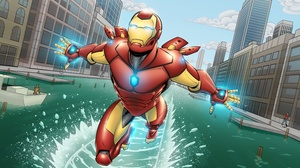 Iron Man Marvel Comics Tony Stark 3000x2000 wallpaper